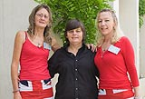Janice Johnson, Sue Treweek and Diane Tronc